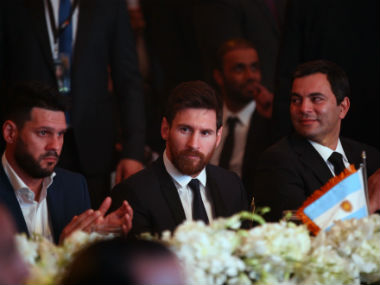 Lionel travelled to Cairo to promote a Hepatitis C charity event. AFP
