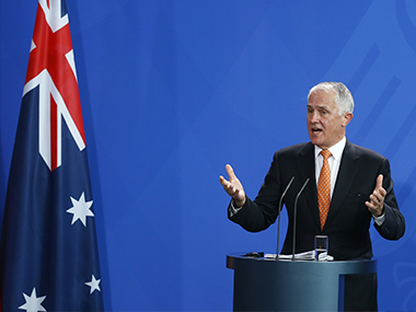 Malcolm Turnbull. Reuters