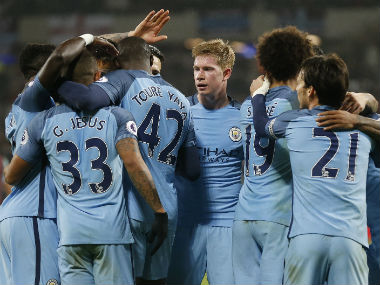 File image of Manchester City. AP