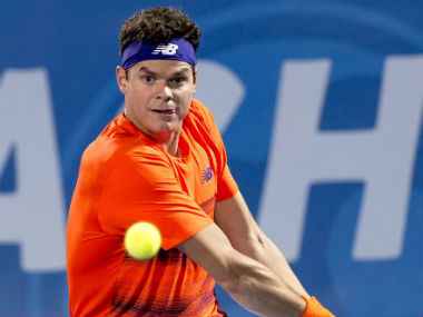 Milos Raonic will face Jack Rock in the final of Delray Beach Open. Twitter: @DelrayBeachOpen