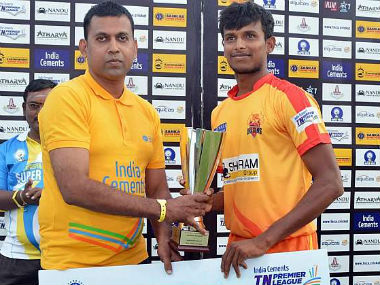 Natarajan showed his worth at the Tamil Nadu Premier League. Twitter: @SunikarReddy
