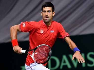 File photo of Novak Djokovic. AFP