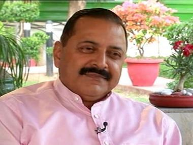 File photo of Union Minister Jitendra Singh. Agencies
