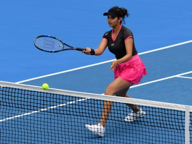 The Indian tennis star had launched the Sania Mirza Tennis Academy earlier in 2013. AFP