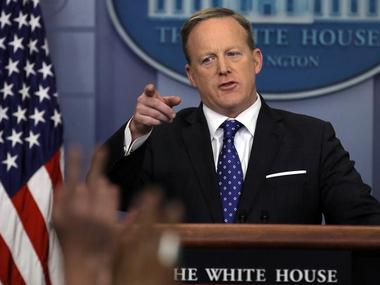 White House spokesman Sean Spicer. Reuters