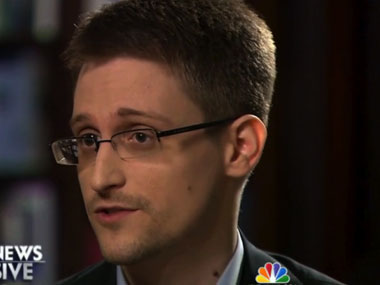 File image of Edward Snowden. AP