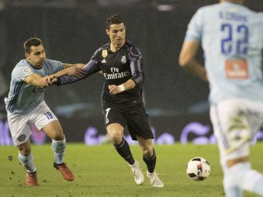 Celta Vigo progressed to the last four of Copa del Ray with a 4-3 aggregate win over Real Madrid just over a week ago. AP