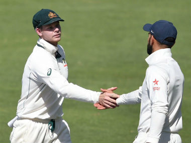Steve Smith (left) and Virat Kohli. PTI