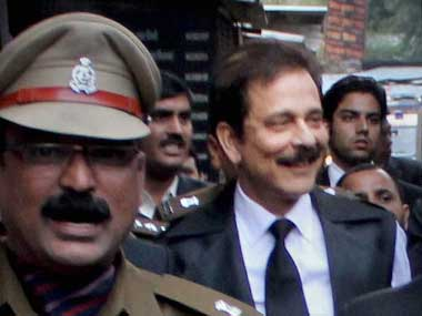 Subrata Roy. PTI file photo
