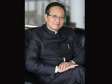 Nagaland chief minister TR Zeliang.