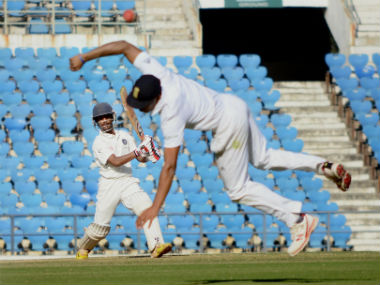 India U19 managed to draw after losing wickets quickly. PTI