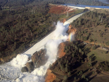 Oroville Dam in Oroville, California. Reuters