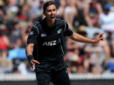 New Zealand's Trent Boult was bought by KKR for Rs 5 crore. AFP