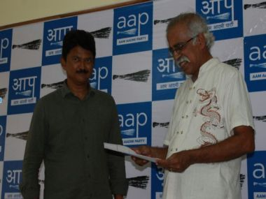 Elvis Gomes accepting