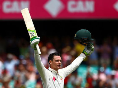 Peter Handscomb is a good player of spin, but has his task cut out in India. Reuters