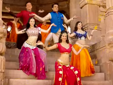 Still from 'Kung Fu Yoga'