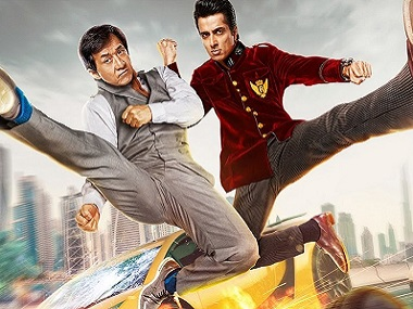 Jackie Chan and Sonu Sood in 'Kung Fu Yoga'