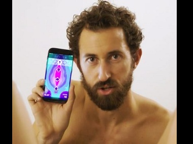 The 'Lickster' app promises to help you get your oral sex skills down pat