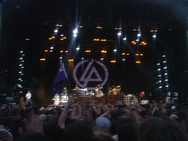 Linkin Park in concert. Image coutesy: Creative Commons