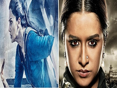 Taapsee Pannu in the poster of Naam Shabana and Shraddha Kapoor in the poster of Haseena. Twitter