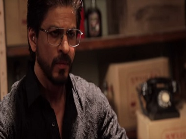 Shah Rukh Khan in a still from the Making of the Character of Raees. YouTube
