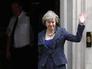 File image of Theresa May. Reuters