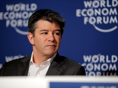 File image of Uber CEO Travis Kalanick. Reuters