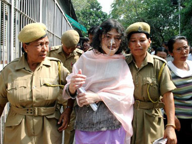 Irom Sharmila. AFP