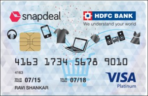 It's raining offers with Snapdeal and HDFC bank's revamped credit card