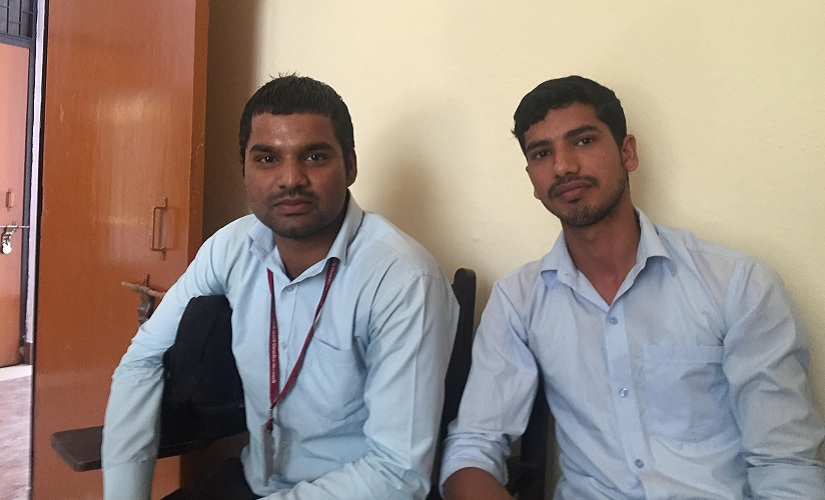 Ankit (left). Firstpost/Parth MN