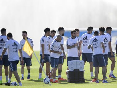 Argentina are in a spot of bother in the World Cup qualifying campaign. AFP
