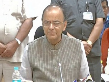 FM Arun Jaitley at GST Council Meet, Delhi - 16 March 2017_380