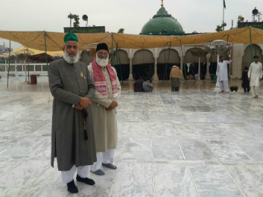 The two clerics from Delhi's Hazrat Nizamuddin Dargah who have gone missing in Pakistan. Image courtesy: Twitter/@ANI_news