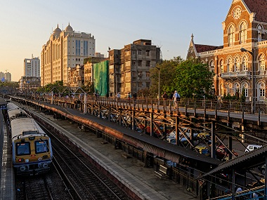 The Charni Road station is Indian origin, and has nothing to do with the British. Image courtesy: Wikimedia Commons