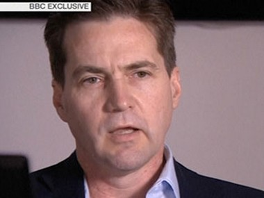 A video grab of Craig Wright taken from a BBC television interview. Reuters