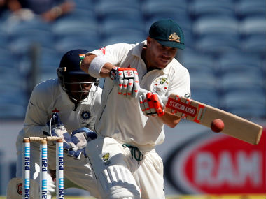 David Warner has been struggling to find his feet in the Border-Gavaskar Trophy. Reuters