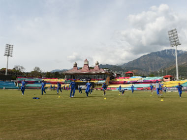 File photo of the HPCA Stadium in Dharamsala. AFP