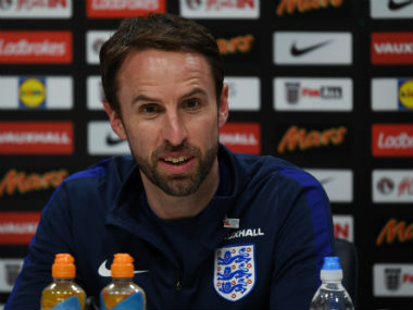 England manager Gareth Southgate says he