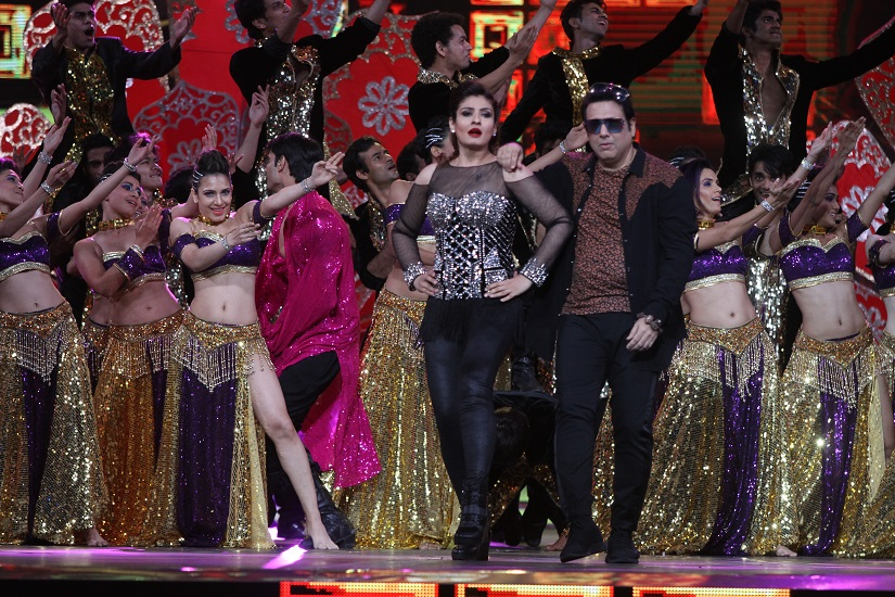 Govinda-Raveena performing together after a decade