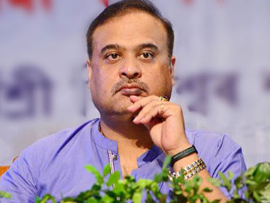 File phot of Himanta Biswa Sarma. PTI