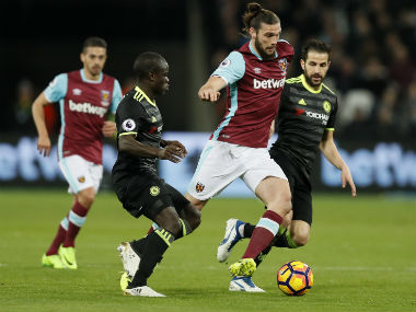 N'Golo Kante was phenomenal against West Ham on Monday. AFP