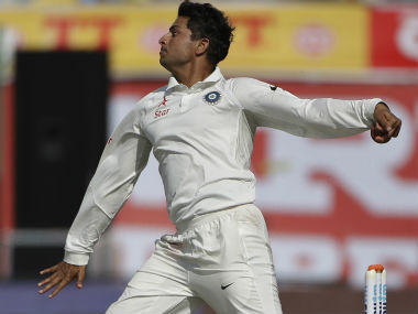File photo of Kuldeep Yadav. AP