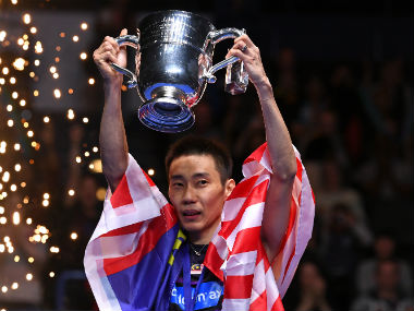 Lee Chong Wei wins his fourth All-England men's singles title. Twitter: @YonexAllEngland