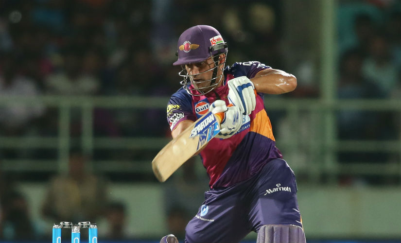 MS dhoni has stepped down as captain this year for the Rising Pun Supergiant. Sportzpics