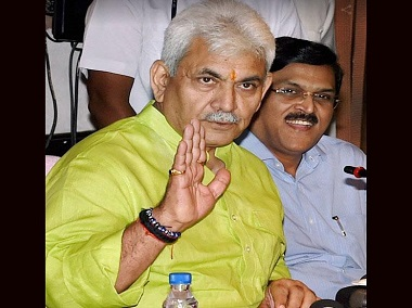 Manoj Sinha in a file image. News18