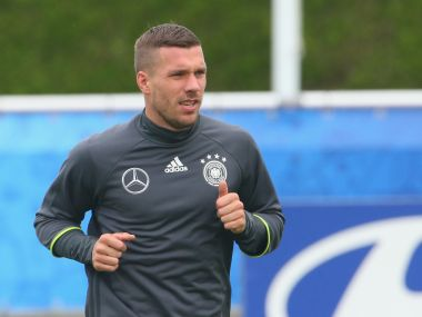 File picture of Lukas Podolski. Getty Images