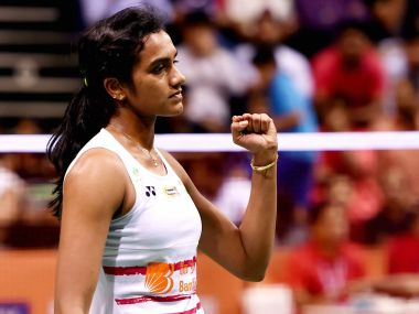 File photo of PV Sindhu. PTI