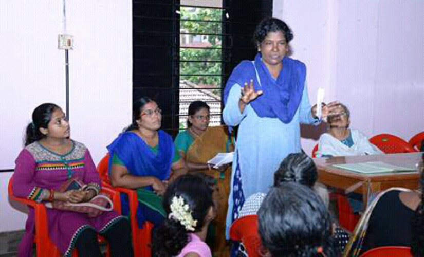 P Viji formed the Penkootam that took up women's causes at the workplace. Firstpost