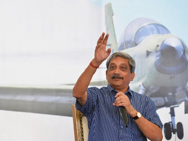 File image of Manohar Parrikar. AFP