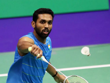 File photo of HS Prannoy. Twitter: @PRANNOYHSPRI